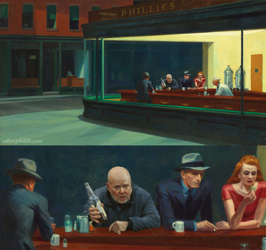 phil mitchell edward hopper