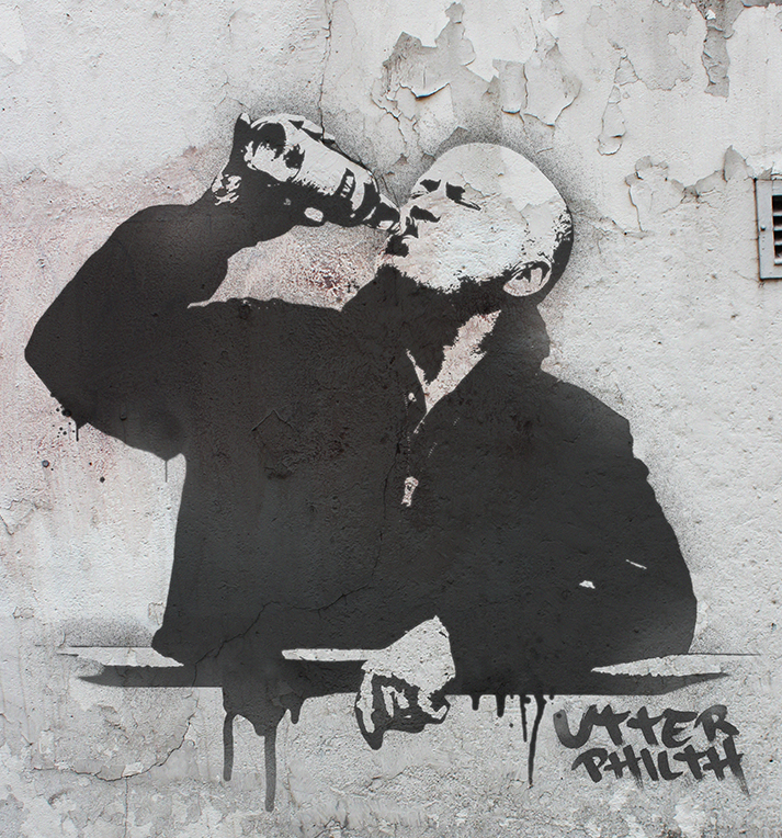 Phil Mitchell banksy