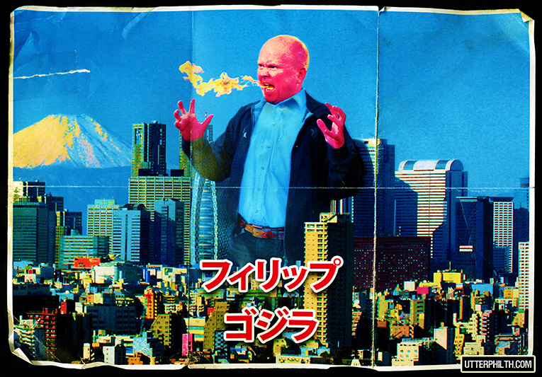 godzilla phil mitchell philzilla utter philth
