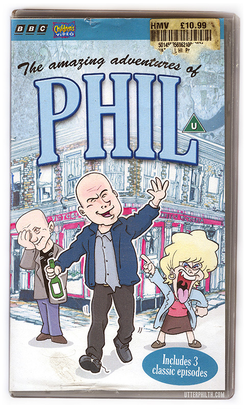 Phil Mitchell animated series