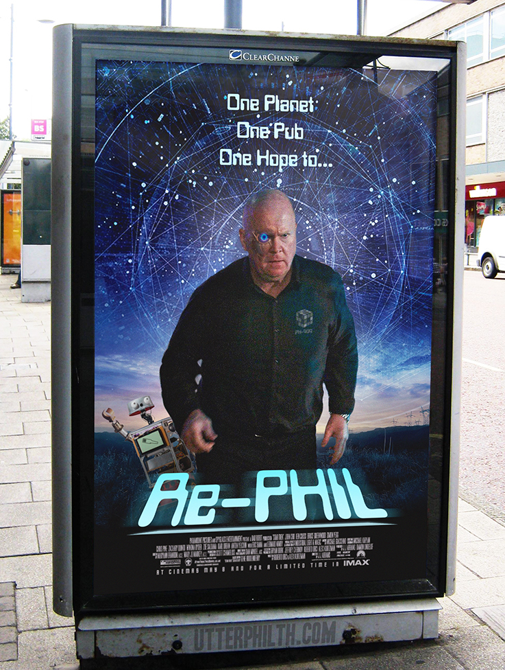 re-phil phil mitchell movie poster utter philth