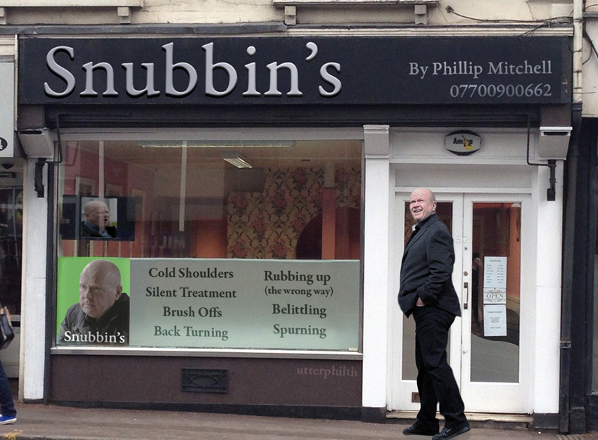 snubbins utter philth phil mitchell shop